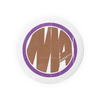 Ms Amaryllis vintage circle logo Badges