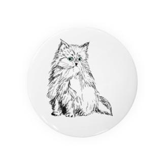 そら色の瞳の猫 Badges