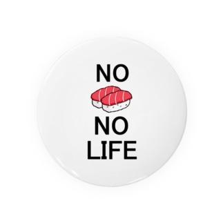 No Sushi No Life Badges