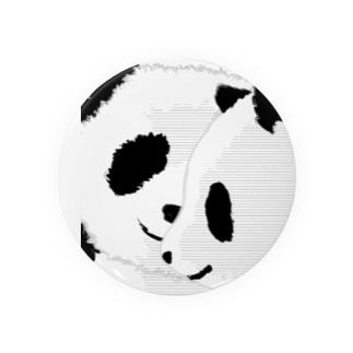 PANDA COMPLEX パンダ頭複合体 Badges