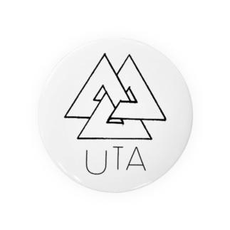 87uta  「87utaロゴ」 缶バッチ Badges