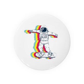 87uta (はなうた)の87uta 「宇宙飛行士」 Badges