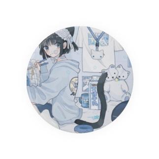 BLUEの音猫ちゃんPart2 Badges