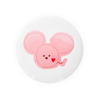 ネズミ ピンク Badges