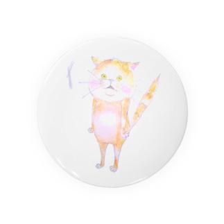 ビクッ‼とした猫 Badges