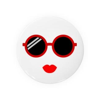 Round Sunglasses Badges