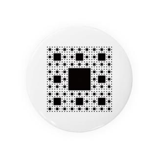 Fractal Sierpinski Carpet Badges