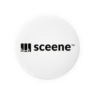 sceene(シンボルロゴ) Badges