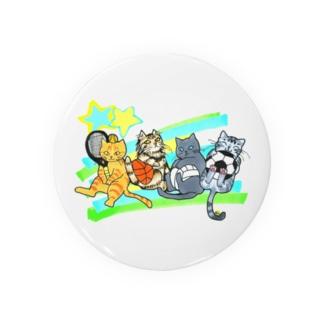 Miku Corporation  Gallery星猫のネコリンピック✨球技 Badges