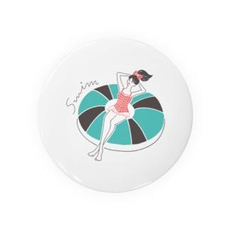 SWIM GIRL Badges