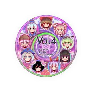 Touhou Goa Trance Family Vol.4 発売記念グッズ(文字なし) Badges
