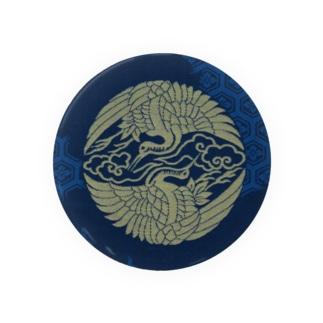 承香院(じょうこういん)オリジナルグッズの承香院(じょうこういん) 雲鶴紋プリントグッズ Badges