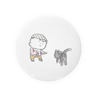 猫にちょっかいだす夫・サミ太郎 Badges