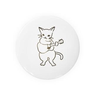 ギター弾く猫 1 Badges