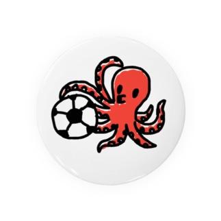 タコサッカー01 Badges