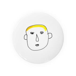 謎の金髪 Badges