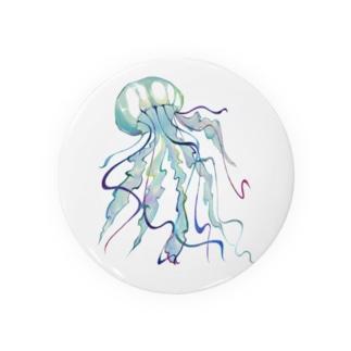 水彩海月 Badges