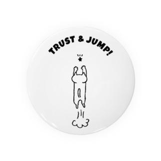 TRUST & JUMP !(BLACK) Badges