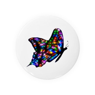 RAINBOW  BUTTERFLY Badges