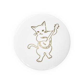 バンジョー弾く猫 1 Badges
