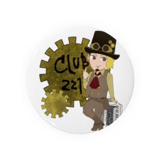 club221 オフィシャルグッズ Badges