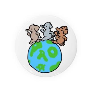 世界パオの日 Badges