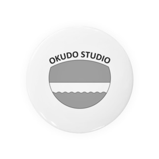 OKUDO STUDIOモノクロ Badges
