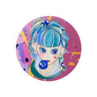 Merci BBオリジナル ガールズ缶バッジ Badges