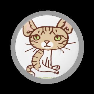 ザ・ワタナバッフルの ワタニャベ ネコ Badges