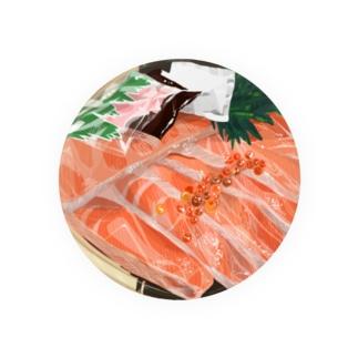 サーモンイクラ丼 Badges