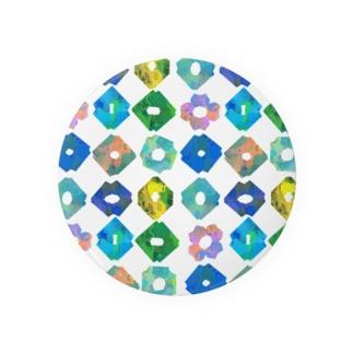 KIRIGAMI_typeA Badges