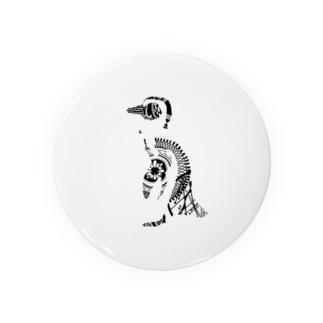 ペン画のペンギン Badges