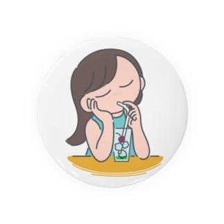 夏の考え事 Badges