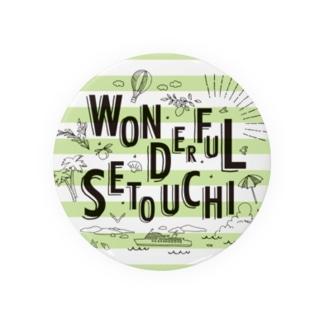 WONDERFUL SETOUCHI GREEN Badges