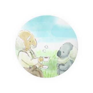 おじいちゃんとコアラ Badges