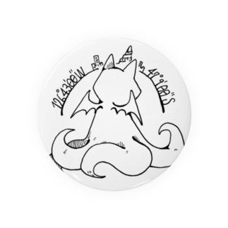冒涜的な猫ルフ(背中色なし) Badges
