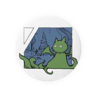 冒涜的な猫ルフ(色付き) Badges