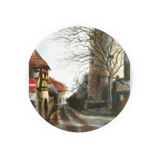 古城へ続く道 Badges
