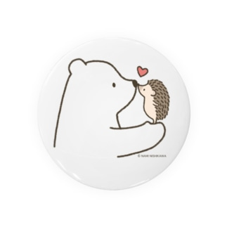 しろくま&ハリネズミ Badges