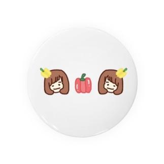 夏野菜リカ子 Badges