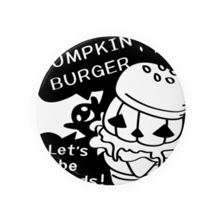 Gz かぼちゃバーガーD Badges