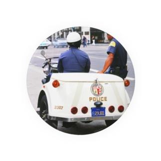 アメリカ:ロサンゼルス市警のパトロール U.S.A.: Policemen of Los Angels Badges