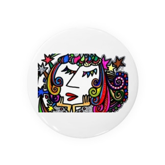 【喜び】エネルギーアート Badges