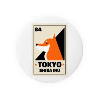 柴犬 東京 Badges