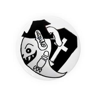 ばけを ハロウィン デザイン Badges