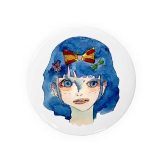 憂鬱、雪白姫。 Badges