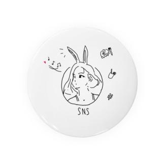 SNSアイコンgirl Badges