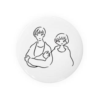 シロとメロのシール Badges