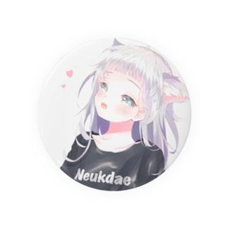 ケモ耳の女の子 Badges