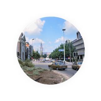 オランダ:アムステルダムの風景写真 Netherlands: view of Amsterdam Badges